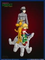 Inspector Gadget Anime Style by Shenhua