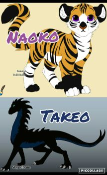 Naoko and Takeo by Spirit-The-Artist