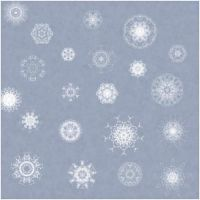 21.snowflakes by ShadyMedusa-stock