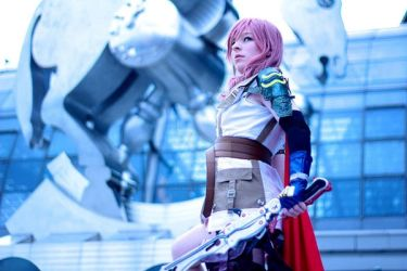 Summon the beast - Lightning Cosplay by CiriCosplay