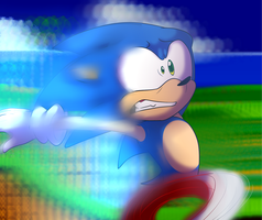 Gotta go to fast by BaconBloodFire