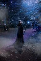 Magical Forest:    Maleficent Cosplay by jaquelinerando