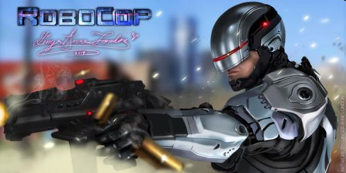 RoboCop 2014 by GingerAnneLondon
