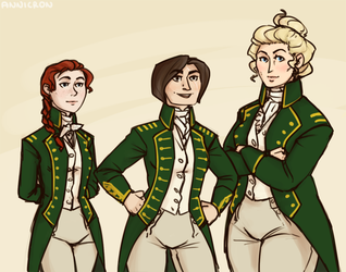 Longwing captains by annicron