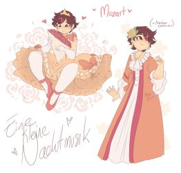 .:CLASSICALOID:. Kanae - Mozart by Drawing-Heart