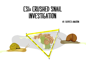 Crushed Snail Investigation by cyantiffic