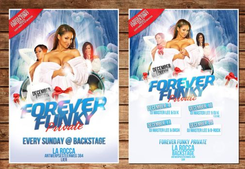 forever funky flyer december by Adriano09