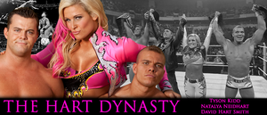 WRESTLING BANNERS: 18. The Hart Dynasty by CreamCrazy