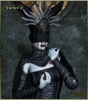 Necro outfit for V4 A4, by Prae (exclusive) by FantasiesRealmMarket