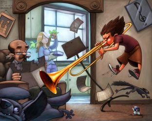 Music Challenge Final by the-art-of-B