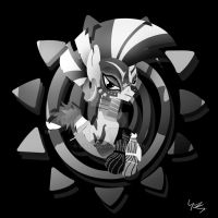 Zecora Black and White by Ilona-the-Sinister