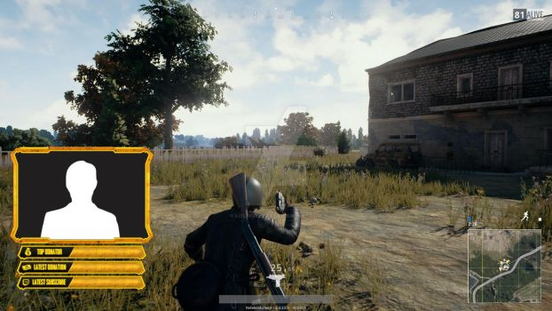 PLAYERUNKNOWN'S BATTLEGROUNDS - Cam Overlay by lol0verlay