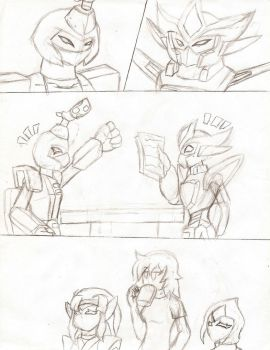 GIft1: Bots and their Soaps by NeonNeoz