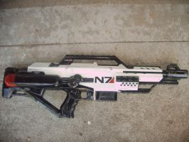 Nerf Mass Effect N7 Stampede (white) by Segerev
