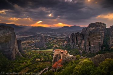 Meteora by iconicarchive