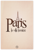 Posters from around the world 1/7: Paris by ARTIFACTdesign