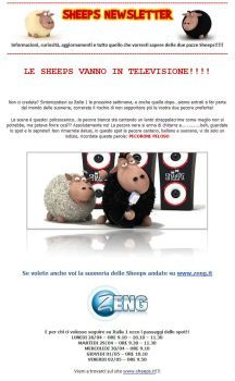 LE SHEEPS VANNO IN TV by bsign