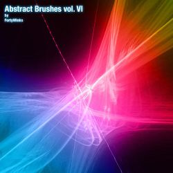 Abstract brush pack vol. 6 by forty-winks