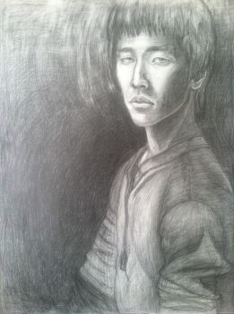 1.) Self Portrait (May 2012) by ItsShulk