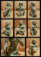GILL MAN sculpt by Anarch-inks