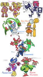 Character Design Prompts (October 2016) by Shenaniganza