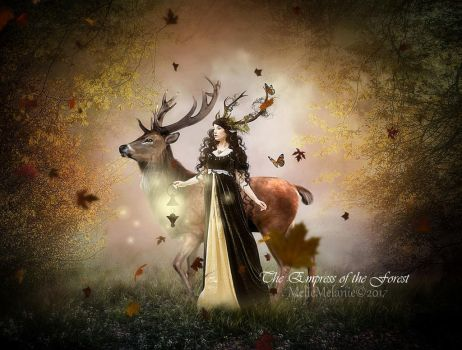 The Empress of the Forest by MelieMelusine