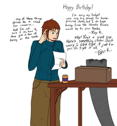 BDay gift - TheHaloGuy by Rubixa-Seraph