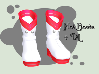 MMD - Hot Boots + DL by lexxxyy