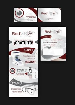 Proyecto corporativo Optica Red Vision by JoseMiguelK