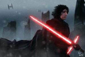 Kylo Ren2 by heidihastings