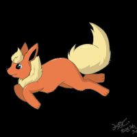 Day 04 - Favourite Eevolution: Flareon