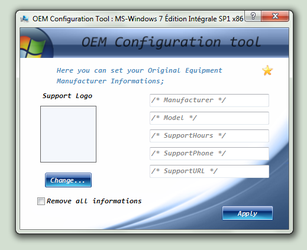 OEM Configuration Tool by c-mar1