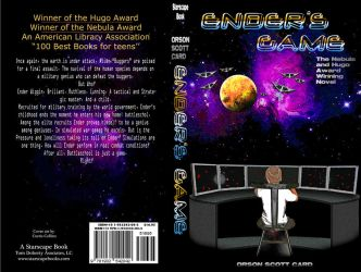 Enders Game Book Cover by curtydc