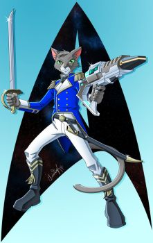 Commission 2 of 2 for Adventure-Cat by CaptRicoSakara