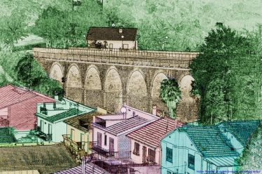 The railway viaduct - Il viadotto ferroviario by Book-Art