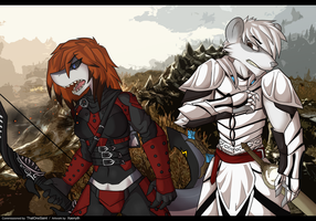 dovahkiin mittens n Will [commission by ALicede