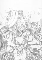 Avengers Unite by TheBoo