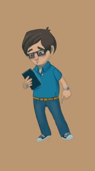 Cartoon Selfie by Bids224