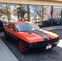 Two tone Dodge Challenger  by JoshuaCordova