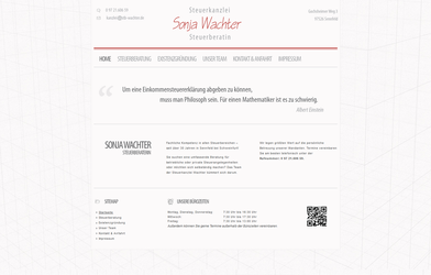 Tax-consultant Weblayout by medienvirus