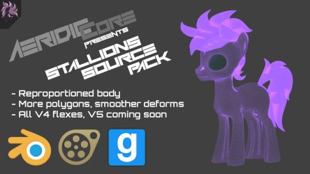 [DL] Stallions Source Pack by AeridicCore