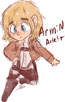 Armin sketch by BritishStarr