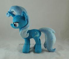 My Little Pony Plushie: Trixie by WhiteHeather