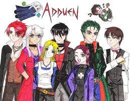 +My Adduen Cast+ by zoro4me3