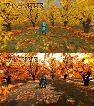 [MMD]Autumn Stage by ketokeas