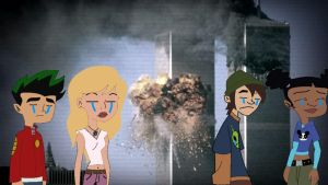 American Dragon Jake Long Remembers 9-11 by mrentertainment