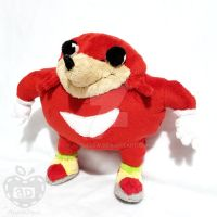 Ugandan Knuckles Plush by AppleDew