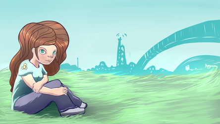 Practicing more backgrounds by PumkiMask