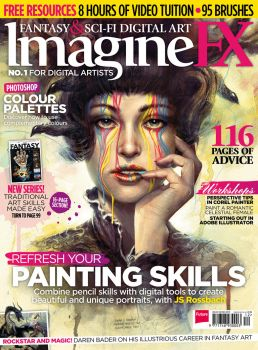 ImagineFX issue 102 by ClaireHowlett