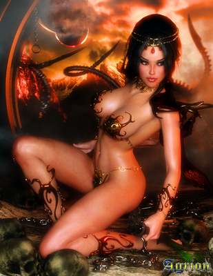 Dejah Thoris by Agr1on